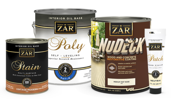 Zar: Wood Stains, Finishes, Paints & Sealers   Various Colors